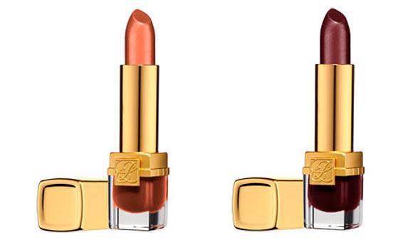 Pure Color - Long Lasting Lipstick, Tiger Eye & Urban Auburn Estée Lauder Bronze Goddess Capri summer collection 2012