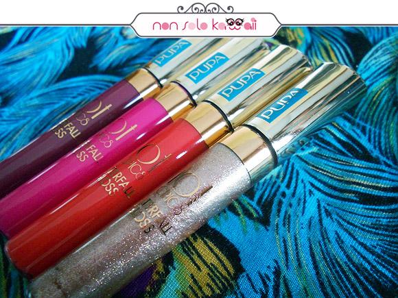 Pupa Hot Tropics Waterfall Gloss lipgloss lucidalabbra