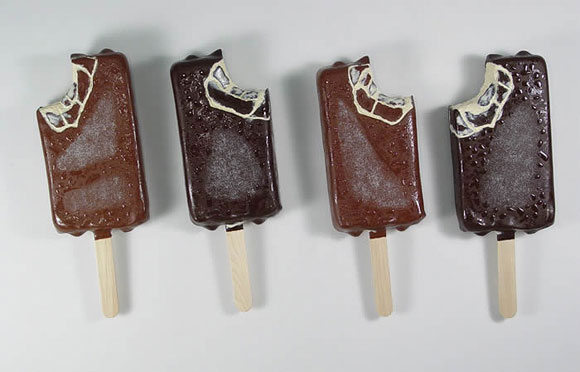 Peter Anton - Dark Chocolate Ice Cream Bars