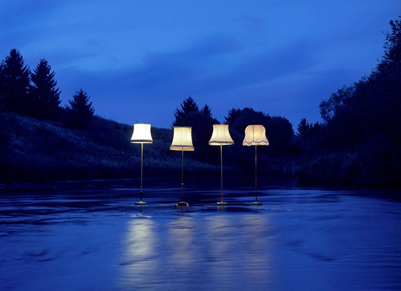 Rune Guneriussen - Evolution #04 - Lampade nella natura - Lamps in the nature