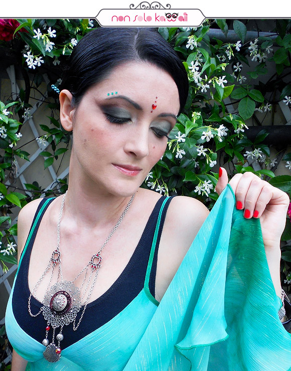 Early Summer Veils, Veli di Inizio Estate, Make-up Summer in India by Neve Cosmetics
