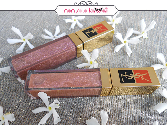 Yves Saint Laurent - Golden Gloss Brillance et éclat d'or, Golden Sable 54,<br /> Golden Coquillage 51