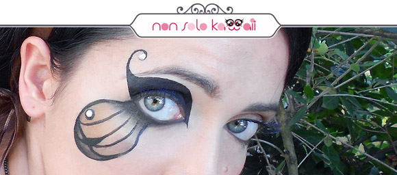non solo Kawaii - Butterfleye, Make-up Yves Saint Laurent
