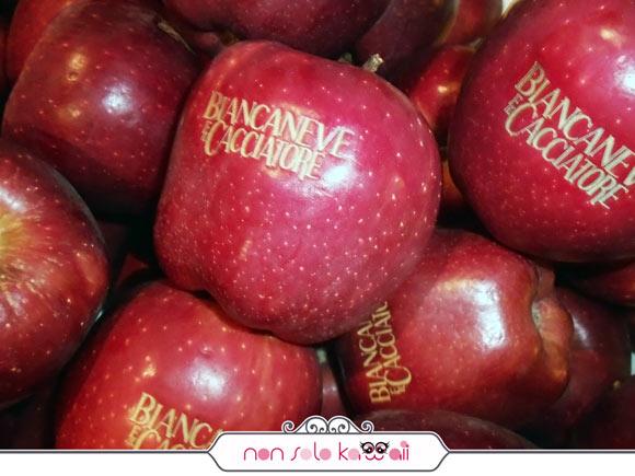Biancaneve e il Cacciatore anteprima italiana, mele apple