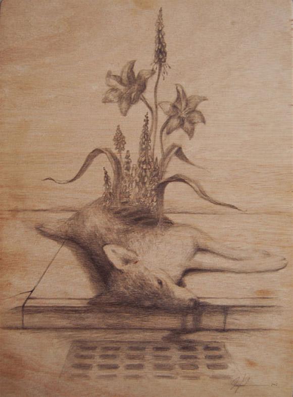 Martin Wittfooth - Red Soil