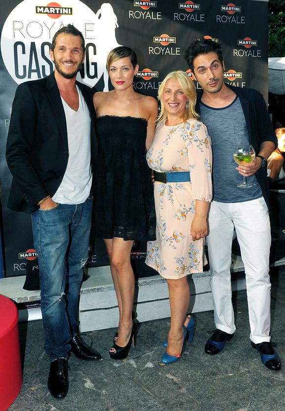 Martini Royale Casting - Alvin, Laura Chiatti, Katia Follesa, Jury Buzzi