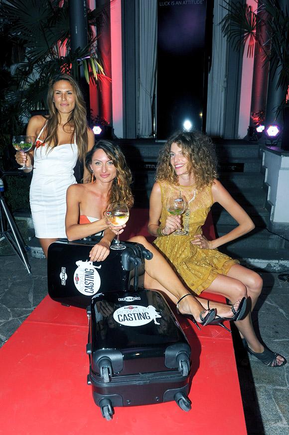 Martini Royale Casting - Alessandra Carlotto, Maria Notarangelo, Debora Franchi
