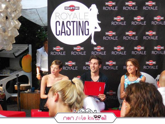 Martini Royale Casting -  Laura Chiatti, Katia Follesa e Yurj Buzzi