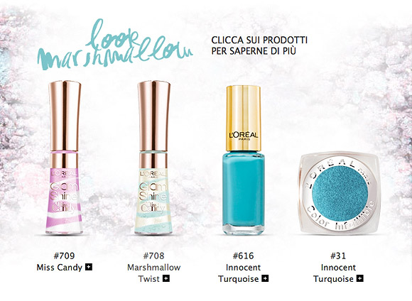Miss Candy Collection by L'Oréal Paris - Look Marshmallow
