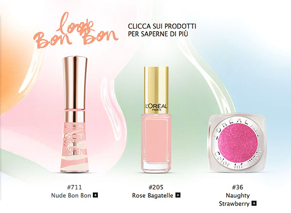Miss Candy Collection by L'Oréal Paris - Look Bon Bon