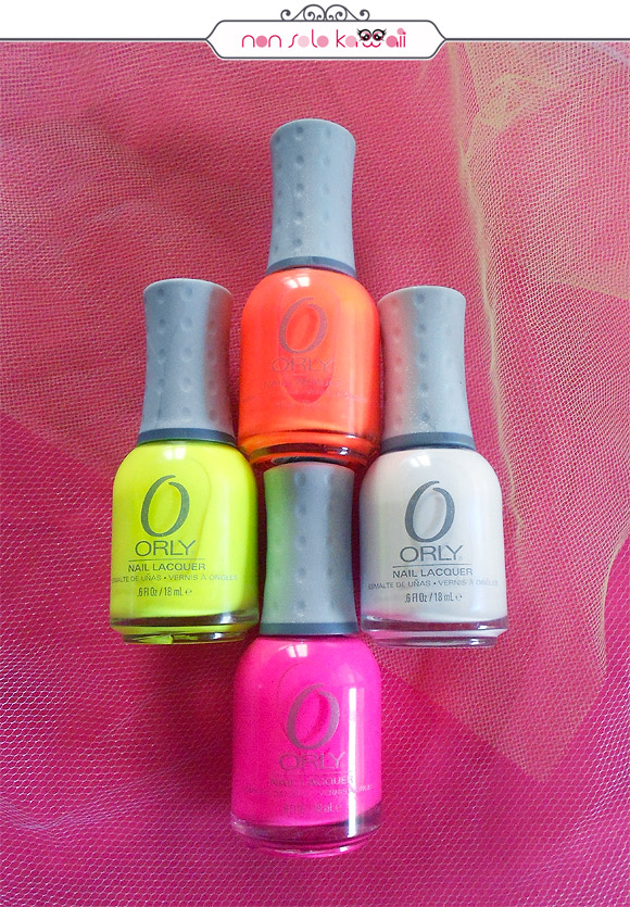 Glowstick, Melt Your Popsicle, Dayglow, Beach Cruiser - Orly Feel the Vibe