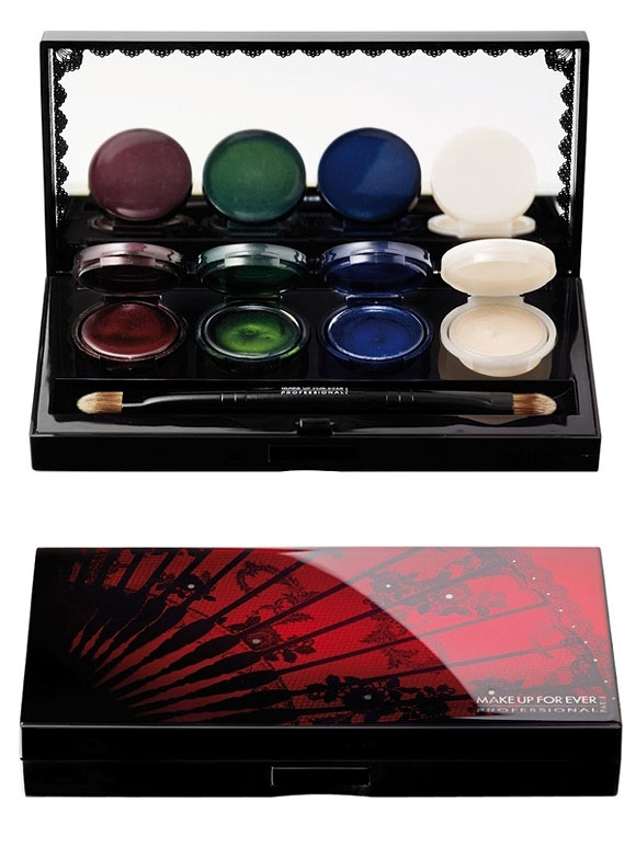 Black Tango Palette Water Cream - Make Up For Ever