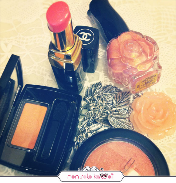Orange Beauty, chanel, anna sui, mac