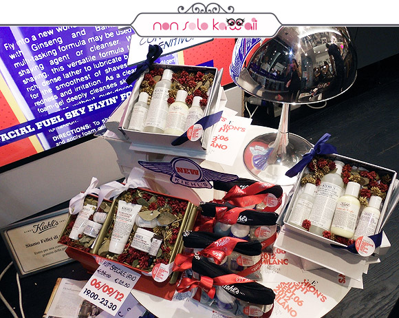 Kiehl's Artisan Blends for Vogue Fashion's Night Out VFNO 2012 Milano