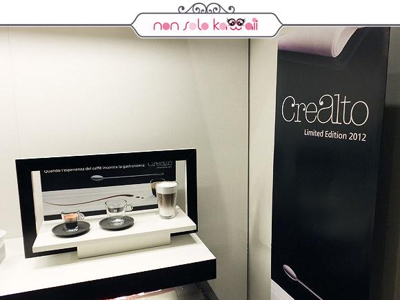 Crealto capsula limited edition, Nespresso for Vogue Fashion's Night Out VFNO 2012 Milano