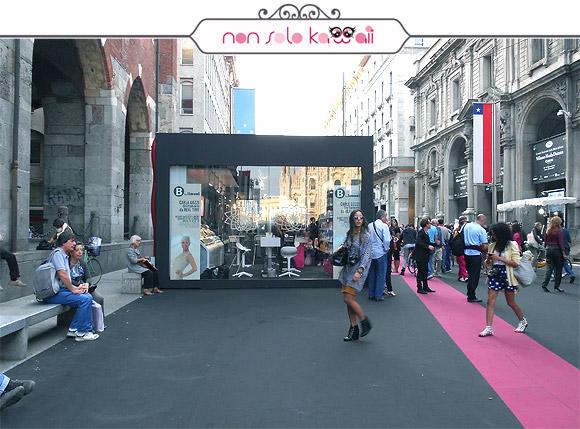 B by limoni make up academy milano fashion week the for Milano fashion academy