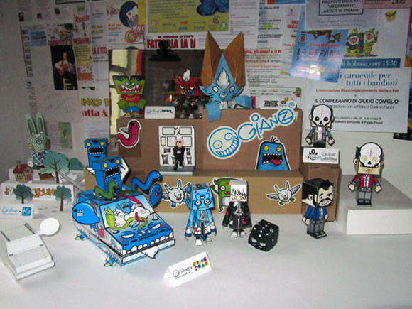 Paper toy by Kawaii Style aka Ivan Ricci at Paper in the Country