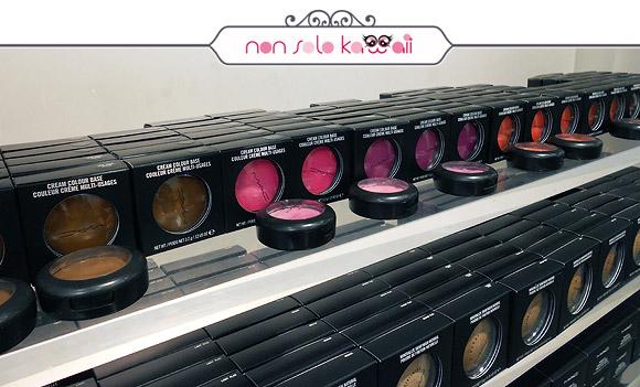 negozio MAC Cosmetics M·A·C Pro Store Milano, blush in crema
