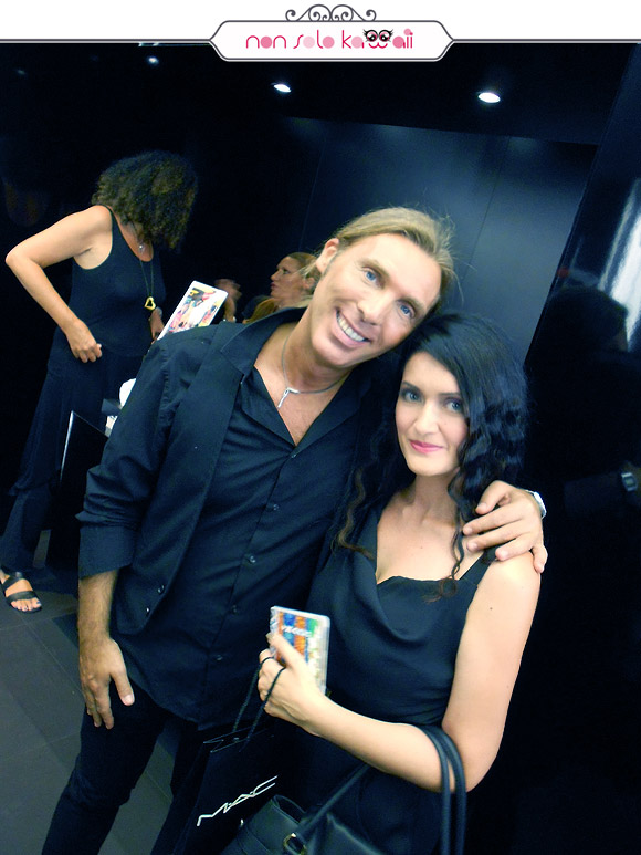 Angela Chiappa e Michele Magnani, MAC Cosmetics & Vogue Fashion's Night Out VFNO 2012, Styleseeker Event