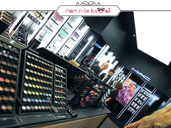 negozio via Torino MAC Cosmetics & Vogue Fashion's Night Out VFNO 2012, Styleseeker Event