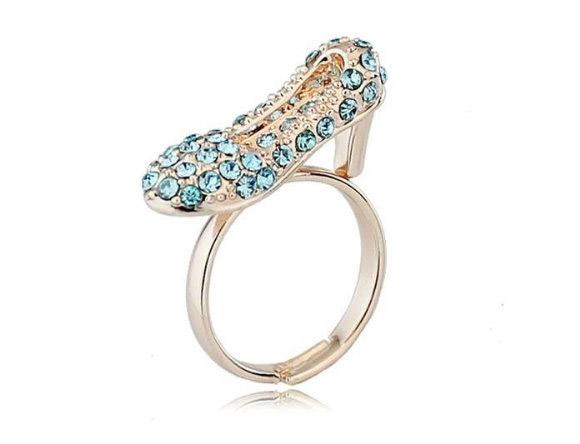 Atelier Jewels - Cinderella Heel Ring / Anello con Scarpetta