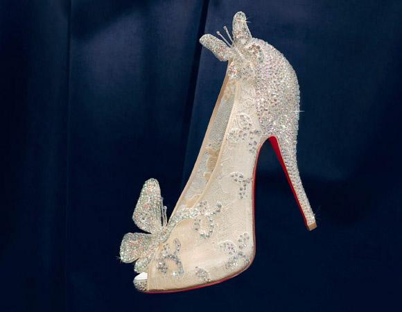 Christian Louboutin - Cinderella's Glass Slipper / Scarpetta di Cenerentola