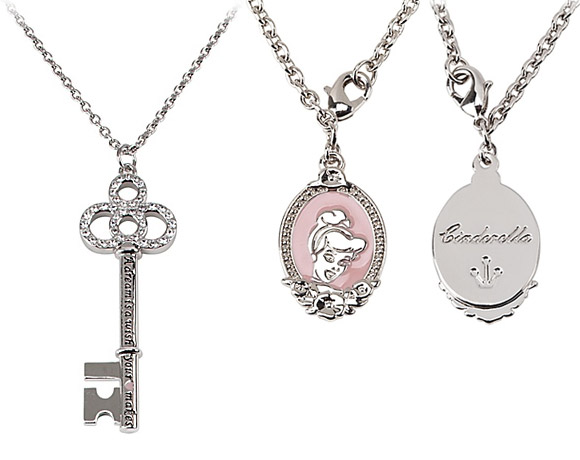 Disney Couture - Disney Couture - Cinderella Key Necklace / Collana di Cenerentola con Chiave