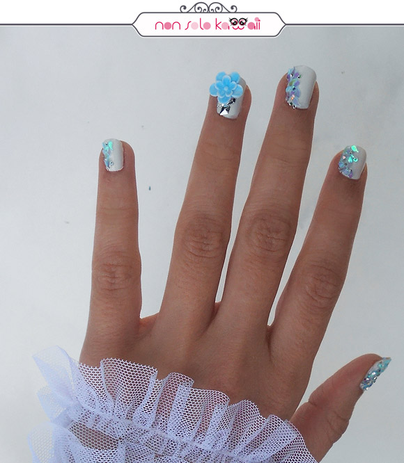 non solo Kawaii - China Glaze Snow