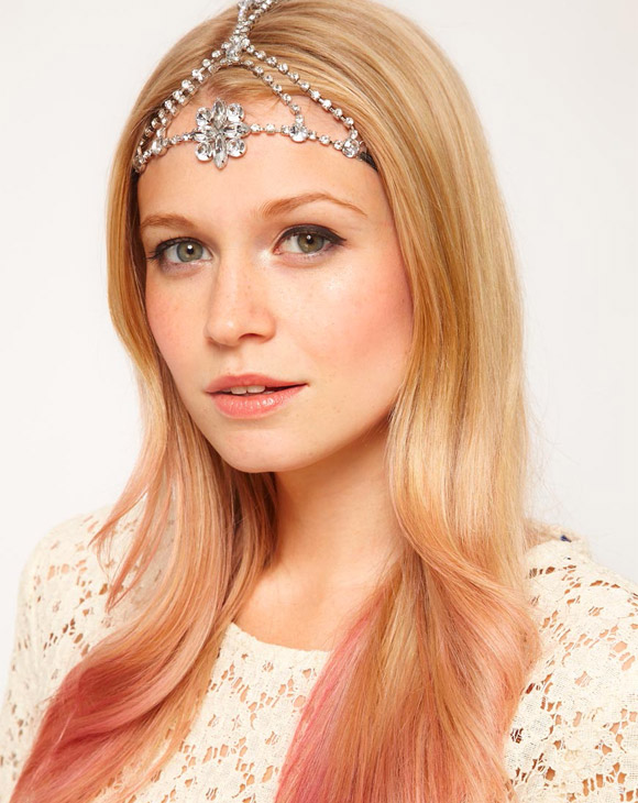ASOS Jewelled Flower Headband