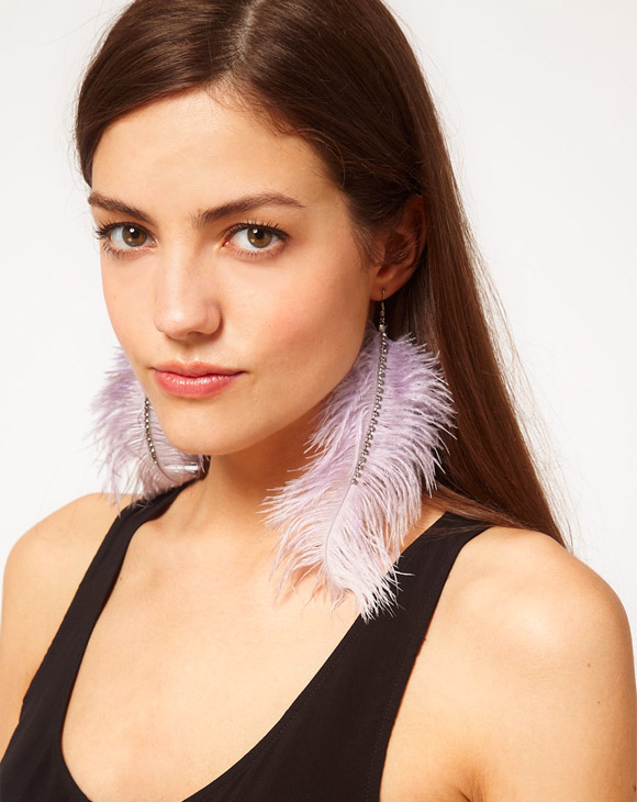 Oasis Feather Earrings