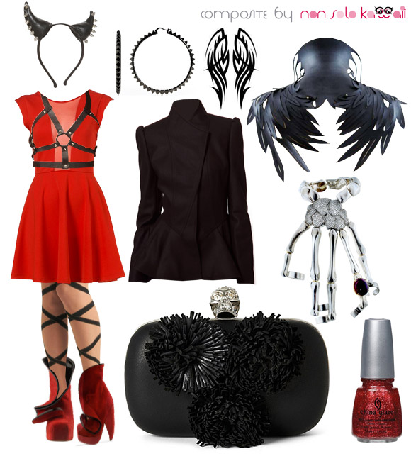 Kawaii Look For Halloween Angel Vs Devil Angelo Vs
