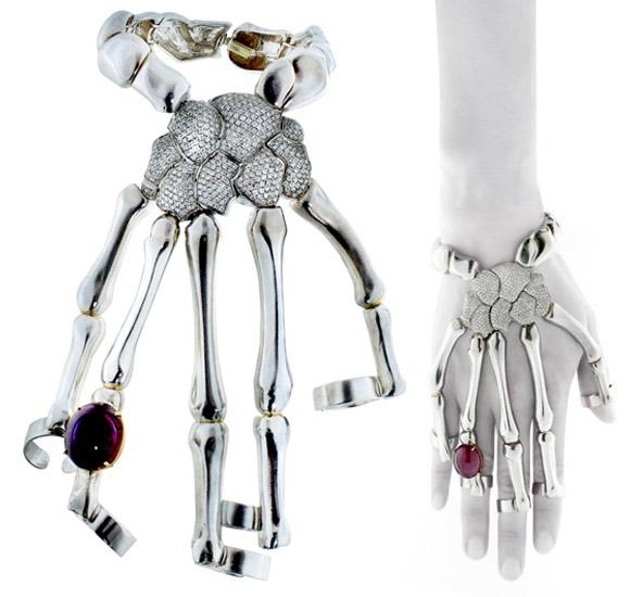 Delfina Delettrez - Skull Bracelet