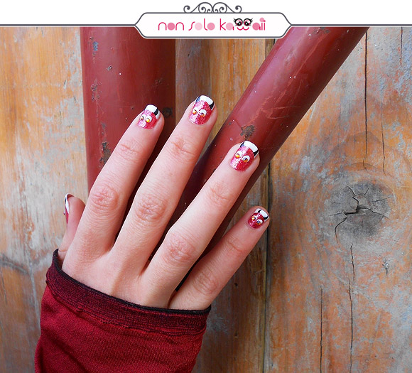 non solo Kawaii - China Glaze Mrs Claus