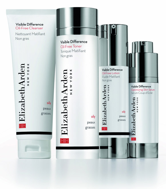 Elizabeth Arden - Visible Difference Oily Skin / Pelli Grasse