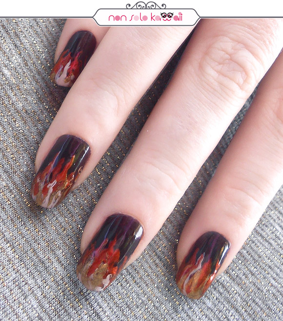 Flames, Lightnings, Blazes & Lava ♥ Orly Fired Up Autumn
