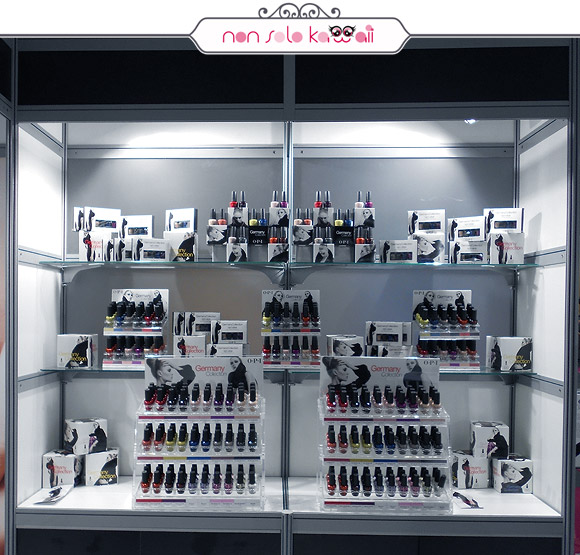 Intercharm Milano, OPI Germany collection
