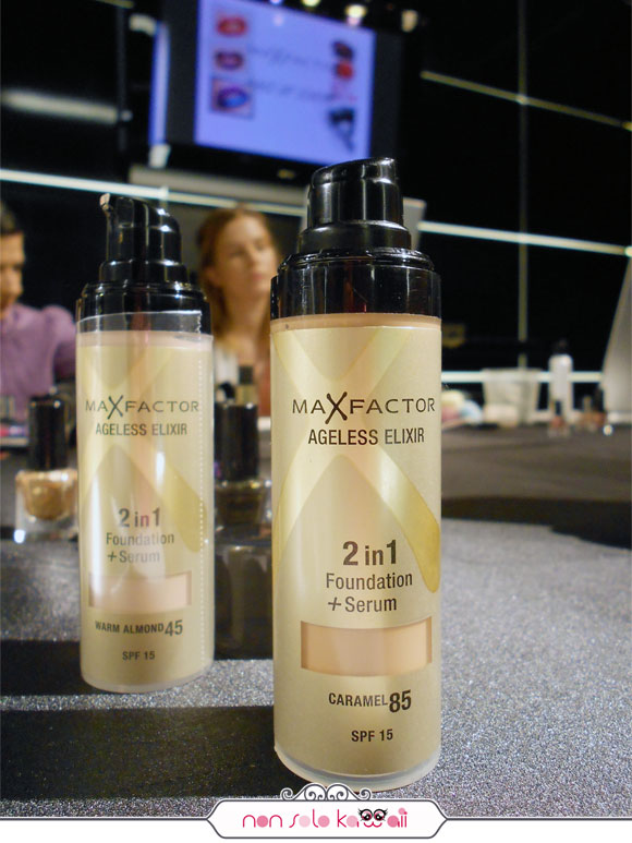 Max Factor Fondotinta / Foundation - Ageless Elixir, Caramel 85