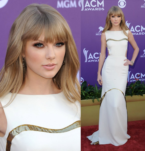 Taylor Swift at Academy of Country Music Awards 2012