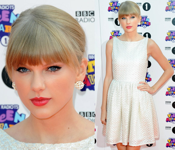 Taylor Swift at BBC Radio 1's Teen Awards 2012
