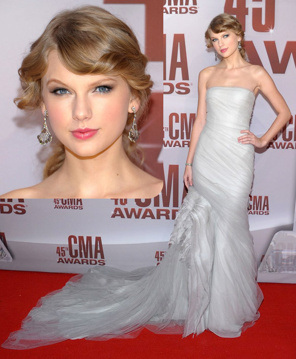 Taylor Swift at Country Music Awards 2011