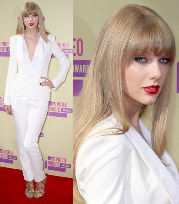 Taylor Swift at MTV Video Music Awards 2012