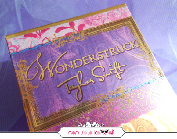 Wonderstruck by Taylor Swift profumo perfume with patchwork style