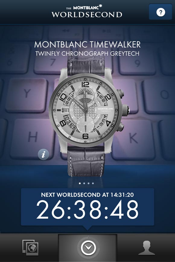 The Montblanc Worldsecond