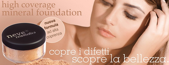 High Coverage Mineral Foundation, Neve Cosmetics