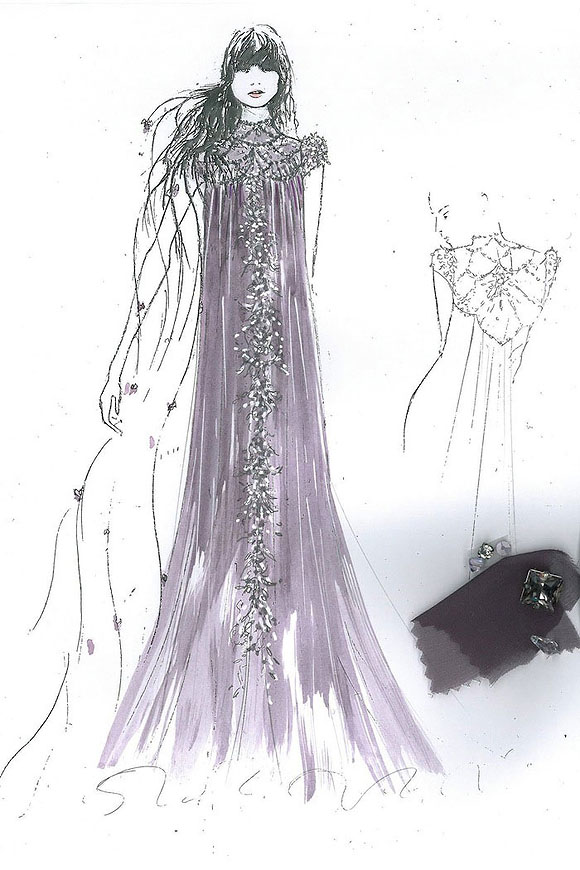 Once Upon A Dream... Harrods' Disney Princess, Rapunzel from Tangled by Jenny Packham