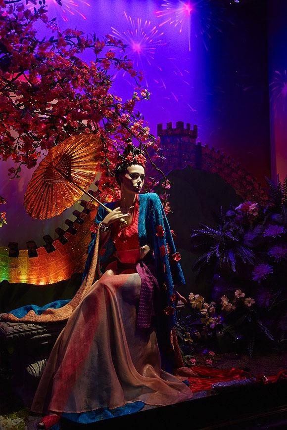 Once Upon A Dream... Harrods' Disney Princess,Mulan by Missoni