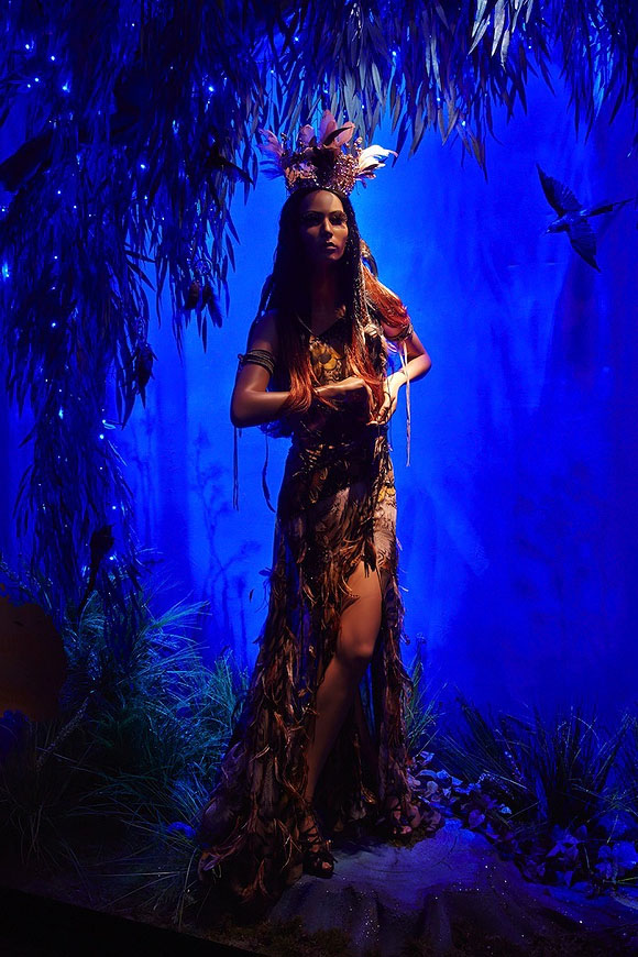 Once Upon A Dream... Harrods' Disney Princess, Pocahontas by Roberto Cavalli