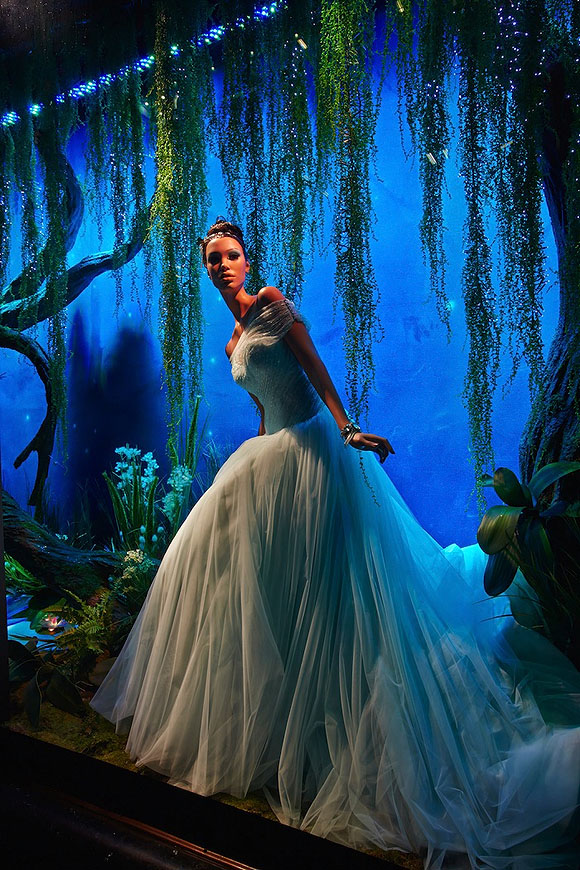 Once Upon A Dream... Harrods' Disney Princess, Tiana from The Princess and the Frog by Ralph & Russo