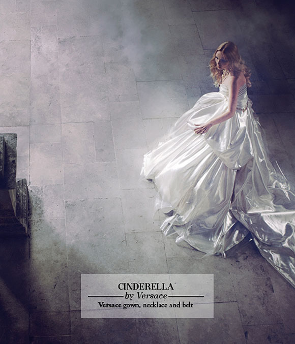 Once Upon A Dream... Harrods' Disney Princess, Cinderella by Versace
