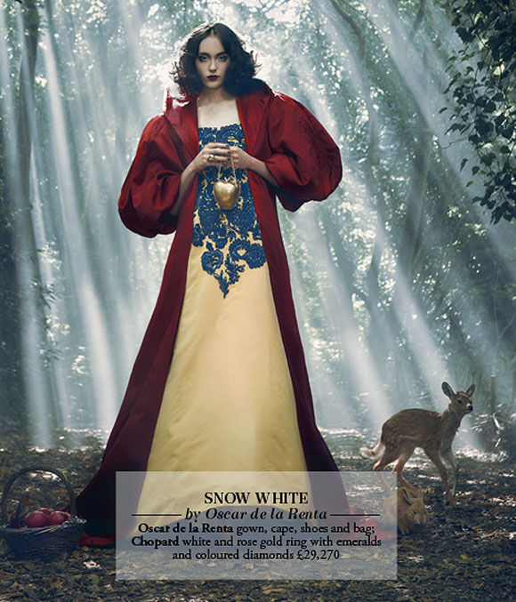 Once Upon A Dream... Harrods' Disney Princess, Snow White by Oscar de la Renta